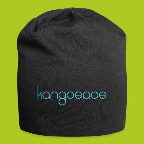 blue kangoeroe design - Bonnet en jersey