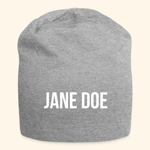 JaneDoe - Jersey-Beanie