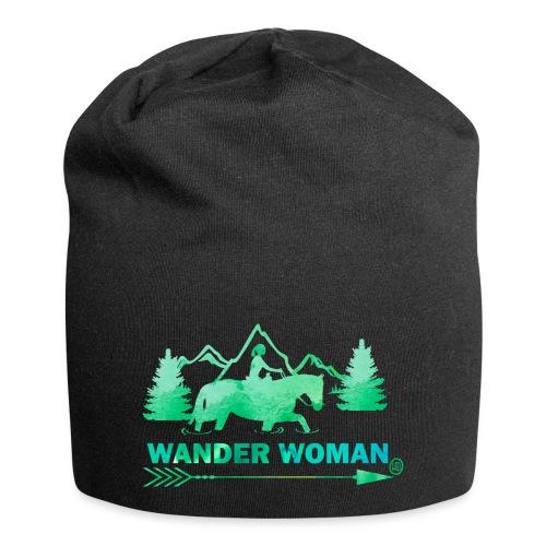 Sprücheshirt - Wander Woman - Jersey-Beanie