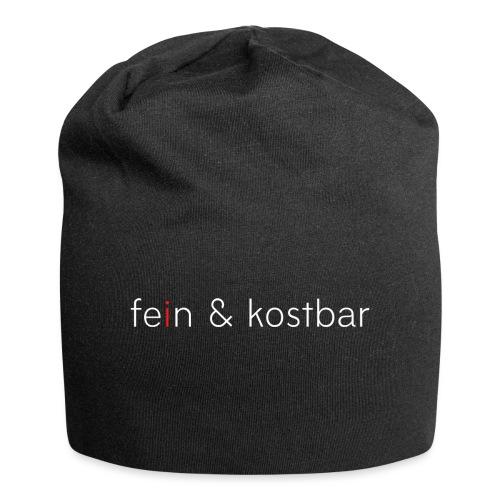 fein & kostbar | Logo | Marke | Merch - Jersey-Beanie