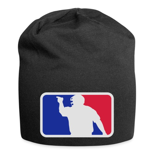 Baseball Umpire Logo - Jersey Beanie