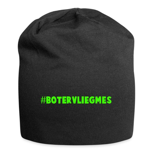 #Botervliegmes T-shirt (vrouwen) - Jersey-Beanie