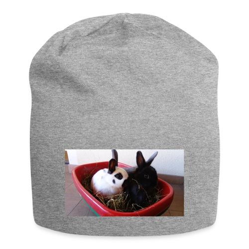 Warme Sachen mit dem Hasenlogo - Jersey-Beanie