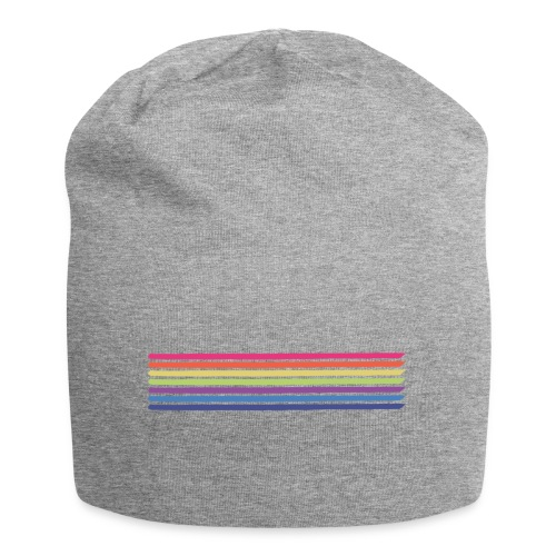 Colored lines - Jersey Beanie