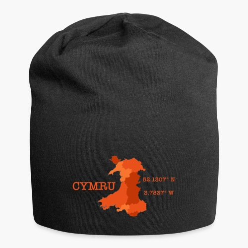 Cymru - Latitude / Longitude - Jersey Beanie