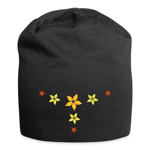 flower, star - Jersey-Beanie