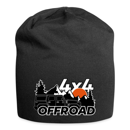 Offroad 4x4 Jeep Logo - Jersey-Beanie