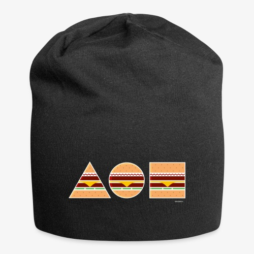 Graphic Burgers - Beanie in jersey