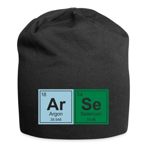 Geeky Arse Periodic Elements - Jersey Beanie