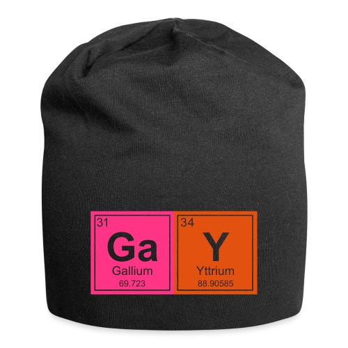 Geeky Gay Periodic Elements - Jersey Beanie