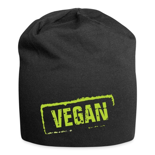 Vegan - Jersey-Beanie