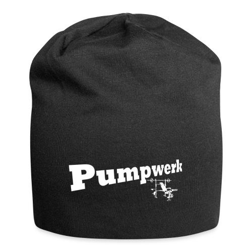 Pumpwerk bench white - Jersey-Beanie