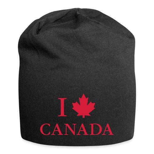 I love Canada Ahornblatt Kanada Vancouver Ottawa - Jersey Beanie