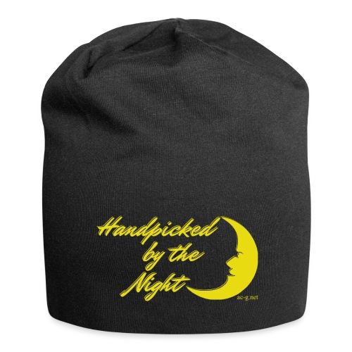 Handpicked design By The Night - Logo Yellow - Jersey Beanie