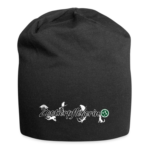 Zootierpflegerin, Logo - Jersey-Beanie