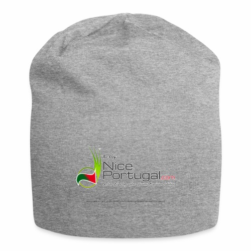NicePortugal.com Logo - Beanie in jersey