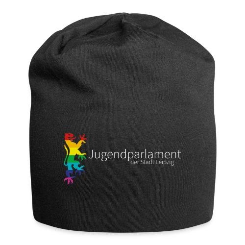 Original-Logo auf dunklem Grund - Jersey-Beanie