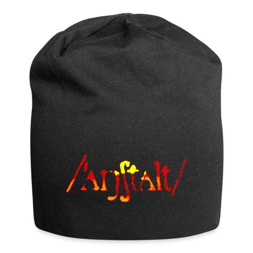 logo gerastert (flamme) - Jersey-Beanie