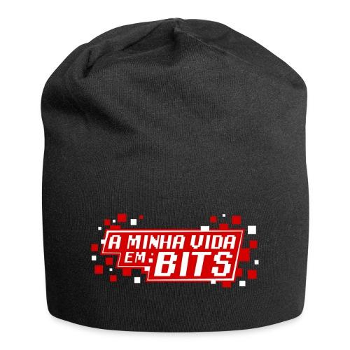 AMinhaVidaemBits Logo - Jersey Beanie