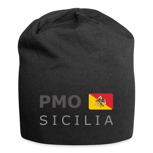 PMO SICILIA dark-lettered 400 dpi - Jersey Beanie