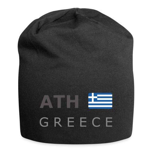 ATH GREECE dark-lettered 400 dpi - Jersey Beanie