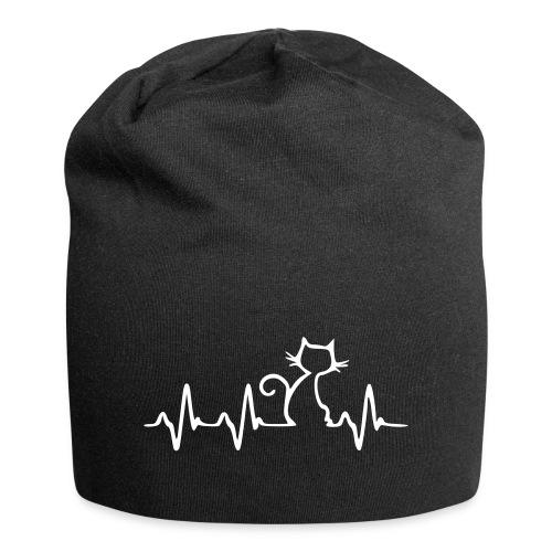 Vorschau: Cat Heartbeat - Jersey-Beanie