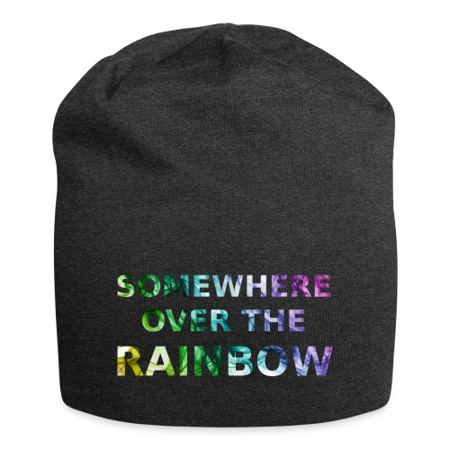 Somewhere over the... - Beanie in jersey