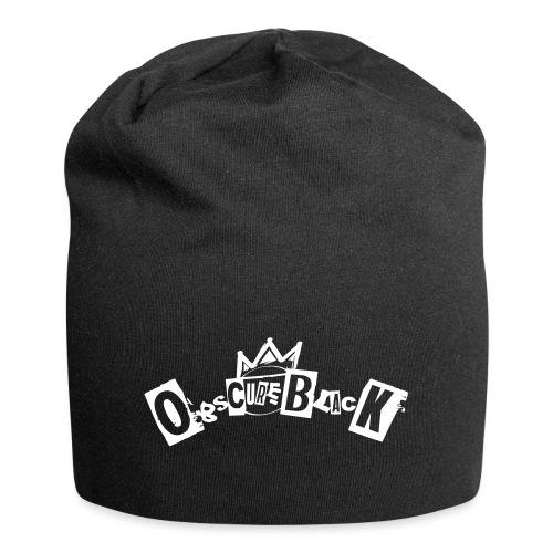 obscureblack logo - Beanie in jersey