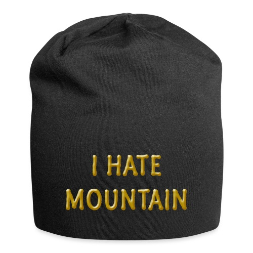 hate mountain - Jersey-Beanie
