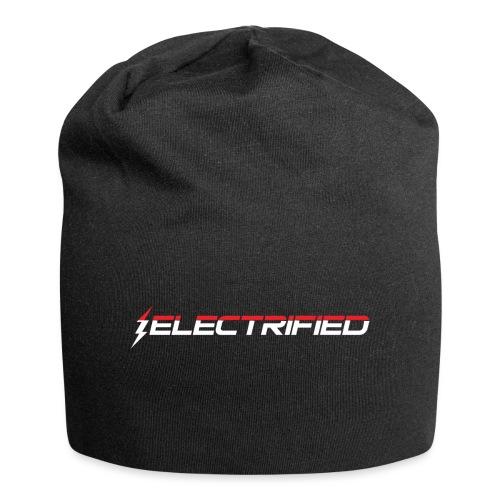 Electrified Logo weiß/rot - Jersey-Beanie