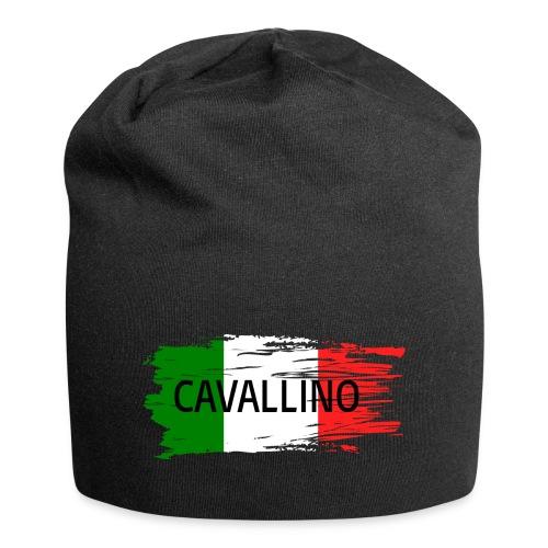 Cavallino auf Flagge - Jersey-Beanie