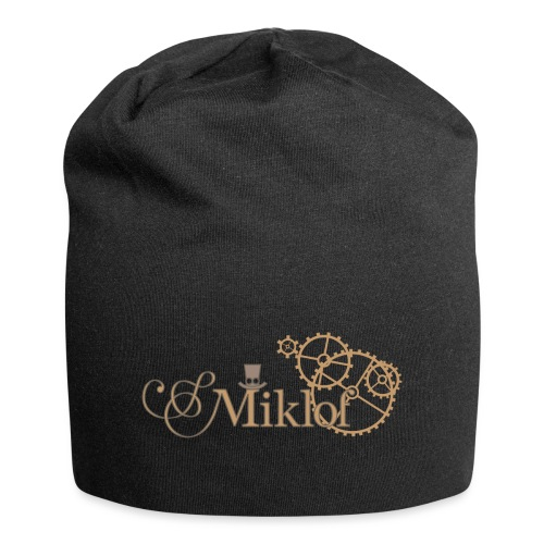miklof logo gold outlined 3000px - Jersey Beanie