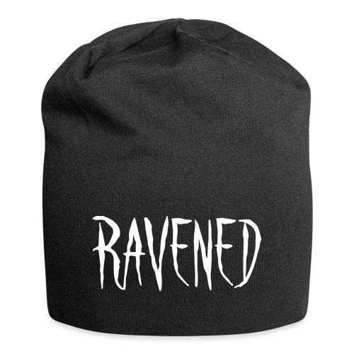 Ravened - White logo - Jersey Beanie