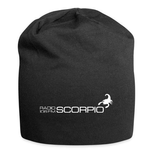 scorpio logo wit - Jersey-Beanie