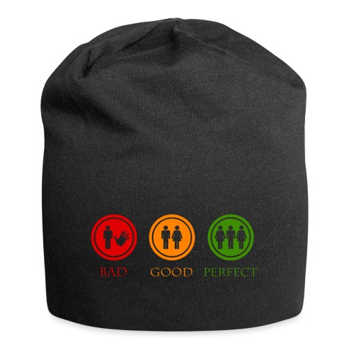 Bad good perfect - Threesome (adult humor) - Jersey-Beanie