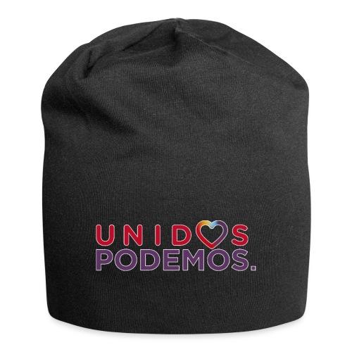 Taza Unidos Podemos 2016 Blanca - Gorro holgado de tela de jersey