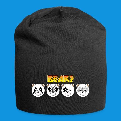 Kiss Bears.png - Jersey Beanie