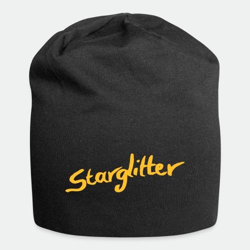 Starglitter - Lettering - Jersey Beanie