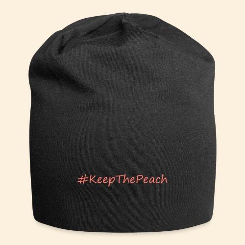 Hashtag KeepThePeach Corail - Bonnet en jersey