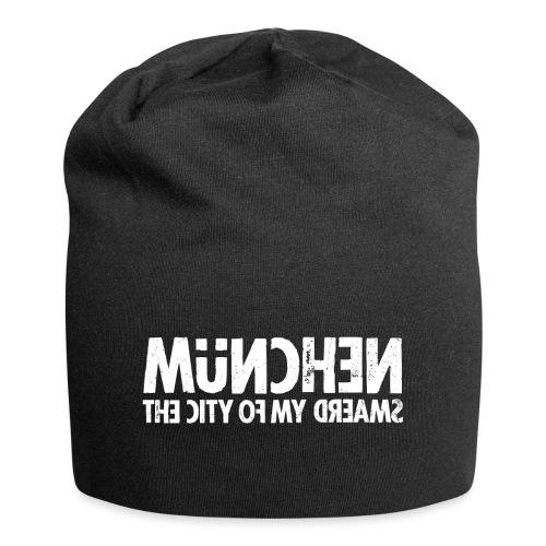 München (white oldstyle) - Jersey-Beanie