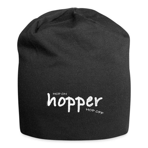 Hoppers Hop On and Off (white) - Gorro holgado de tela de jersey