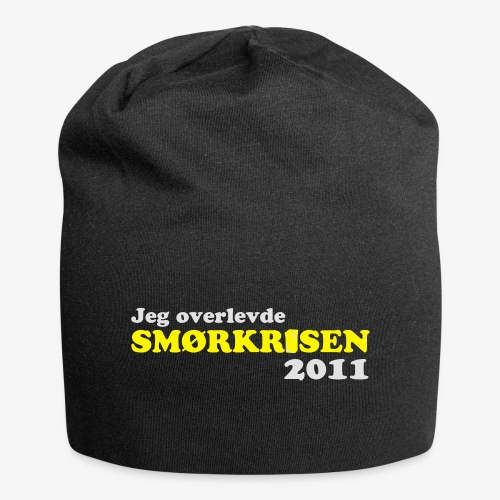Smørkrise 2011 - Norsk - Jersey-beanie