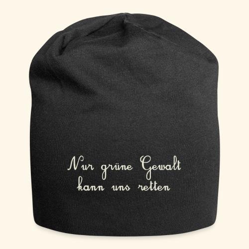 GRUENE GEWALT - Jersey-Beanie