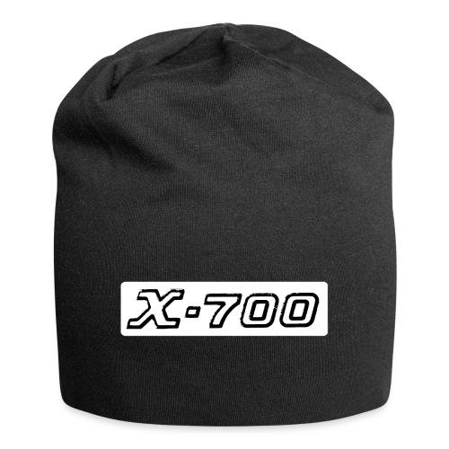 Minolta X-700 White - Beanie in jersey