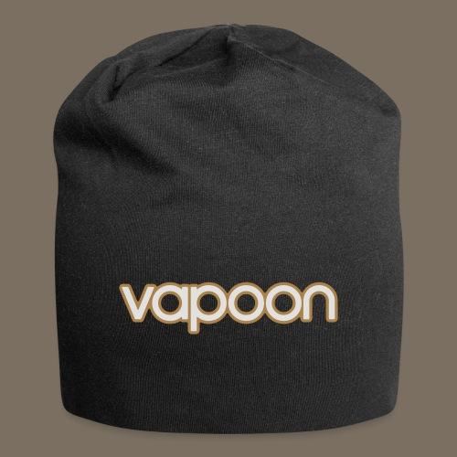 Vapoon Logo simpel 2 Farb - Jersey-Beanie