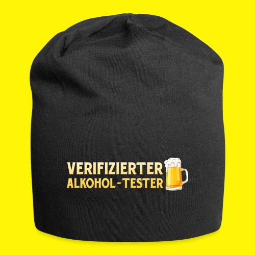 Verifizierter Alkohol-Tester Mütze - Jersey-Beanie