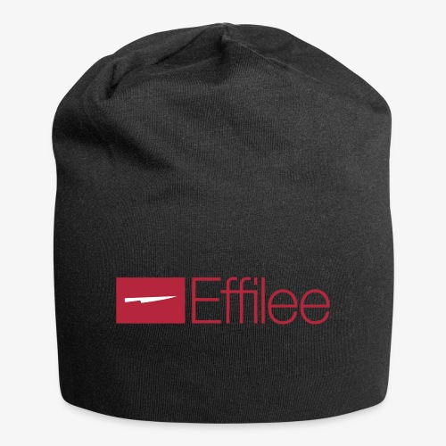 Effilee Logo mit weiss - Jersey-Beanie