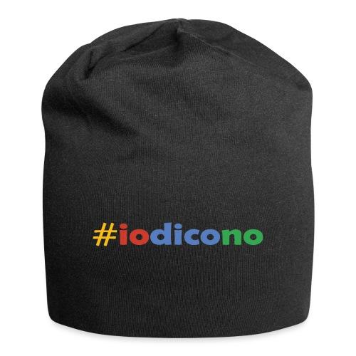 #iodicono - Beanie in jersey