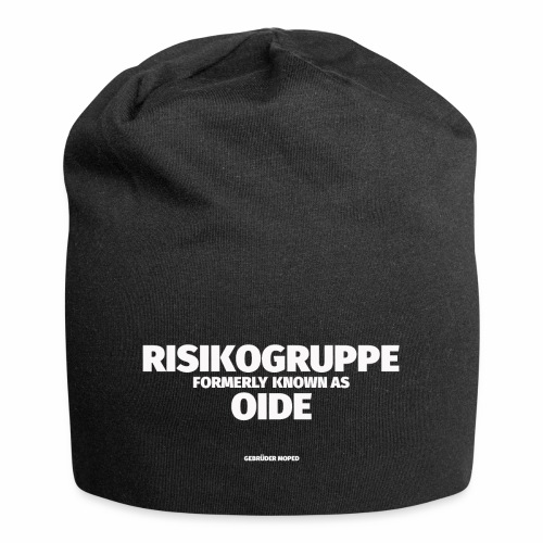 Risikogruppe Oide - Jersey-Beanie