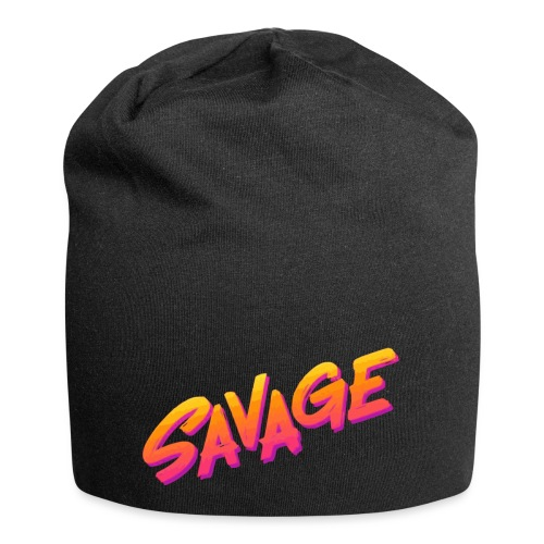 SAVAGE - Beanie in jersey